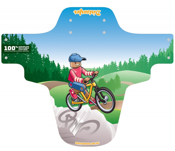 Dirtsurfer Toy Rider Mudguard