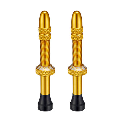 Supacaz Star Valvez, Tubeless Valves - Gold