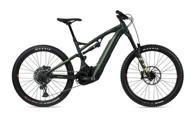 Whyte Full Suspension E-Bike 160 RS V1 in matt Moss