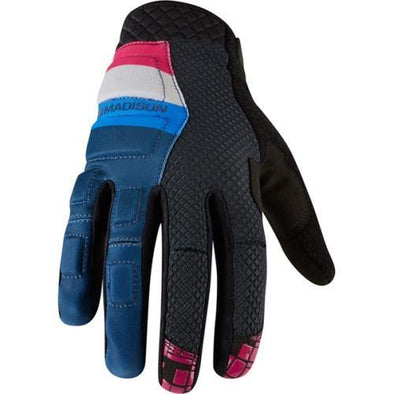 Madison Zenith MTB gloves in blue