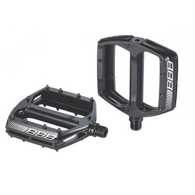 Bicycle flat pedals BBB Cool ride in alloy black