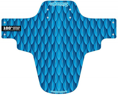 Dirtsurfer Scaled Blue Mudguard
