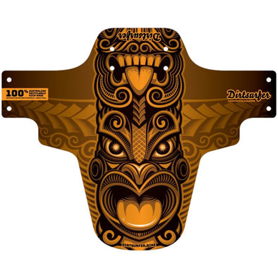 Tiki Orange Dirtsurfer Mudguard