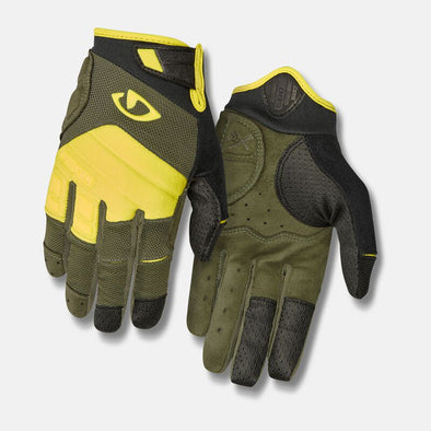 Giro Xen Adult Gloves in Olive /Buckskin