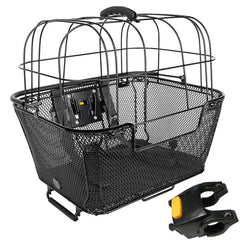 Basket Pet with black cover including bracket