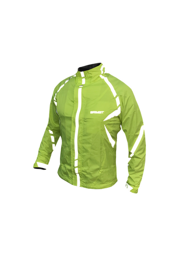 BraveIt Commuter Waterproof Jacket Fluro
