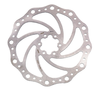 BBB Powerstop V2 160mm/180mm 6 Bolt S/S all Pads Disc Rotors