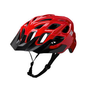 Red Kali Chakra bike helmet in red