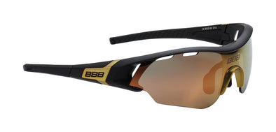 BBB Sunglasses Black and Gold Summit