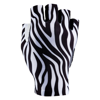 Supacaz SupaG Short Gloves - Limited - Zebra