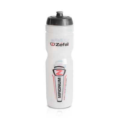 Zefal magnum water bottle in clear