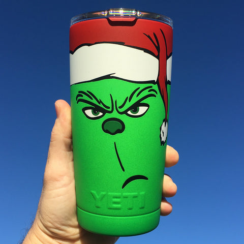 the grinch tumbler