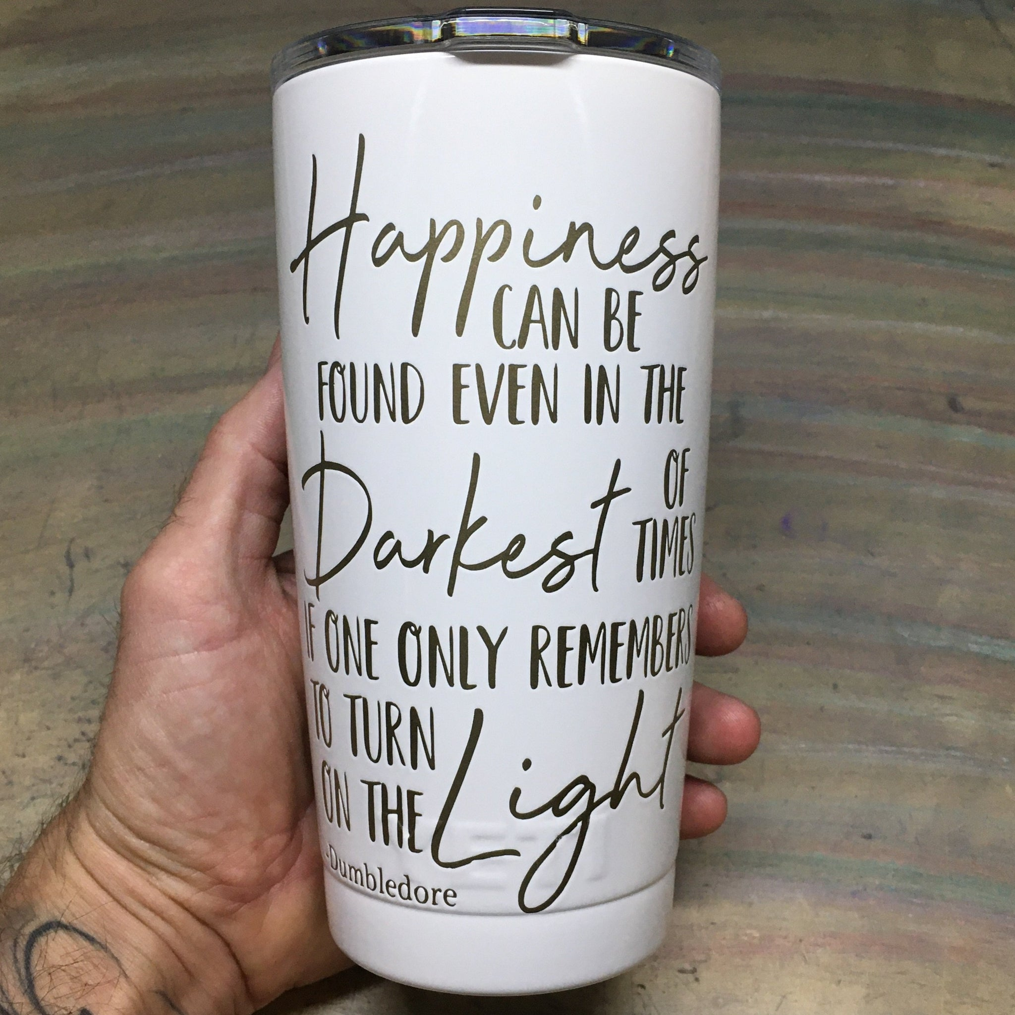 Dumbledores Quote - Happiness-The Utensil Company