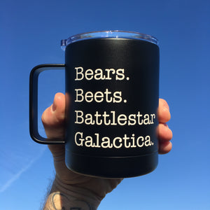 The Office - Bears. Beets. Battlestar Galactica.-The Utensil Company