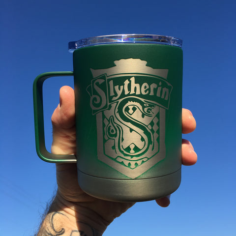 Slytherin House Crest - Ombre-The Utensil Company