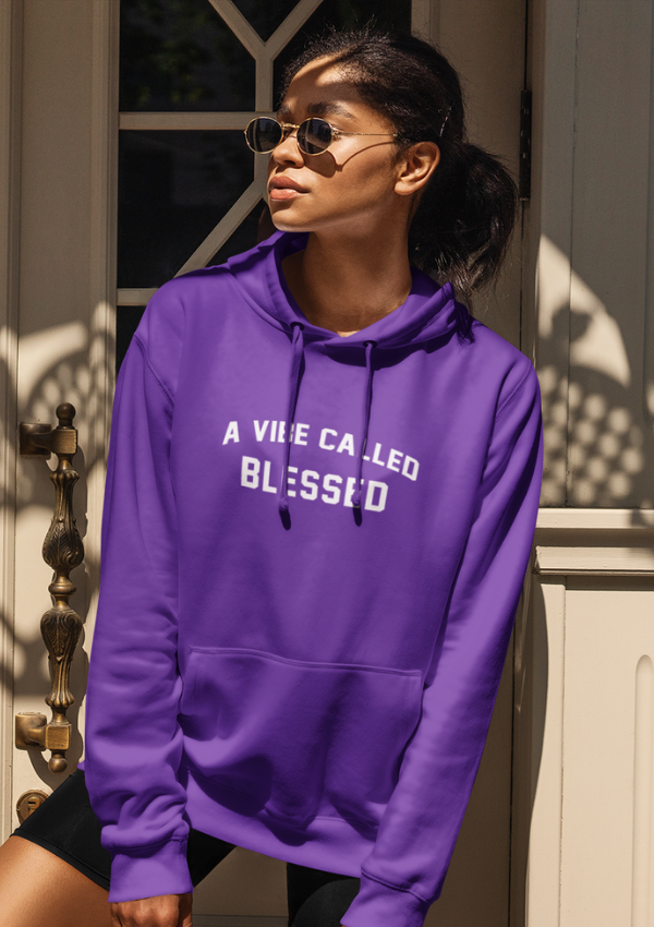 A Vibe Called Blessed - Melanin Magic Unisex Hoodie