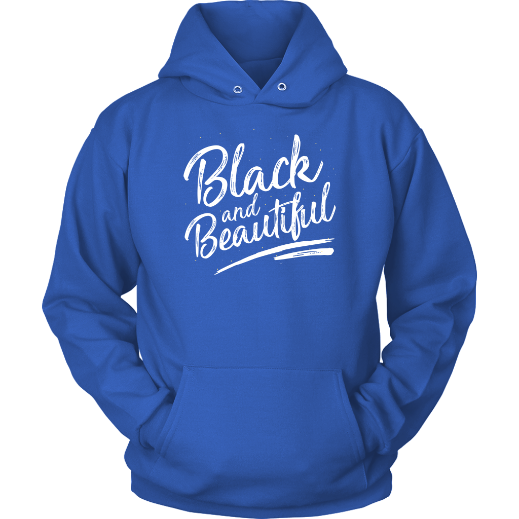 Black and Beautiful Unisex Signature Hoodie - Melanin Magic