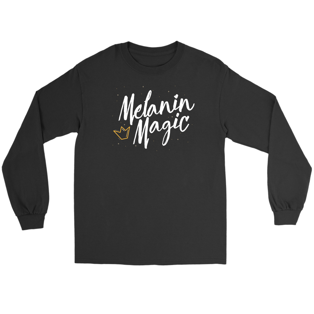 Melanin Magic - Unisex Long Sleeve Tee