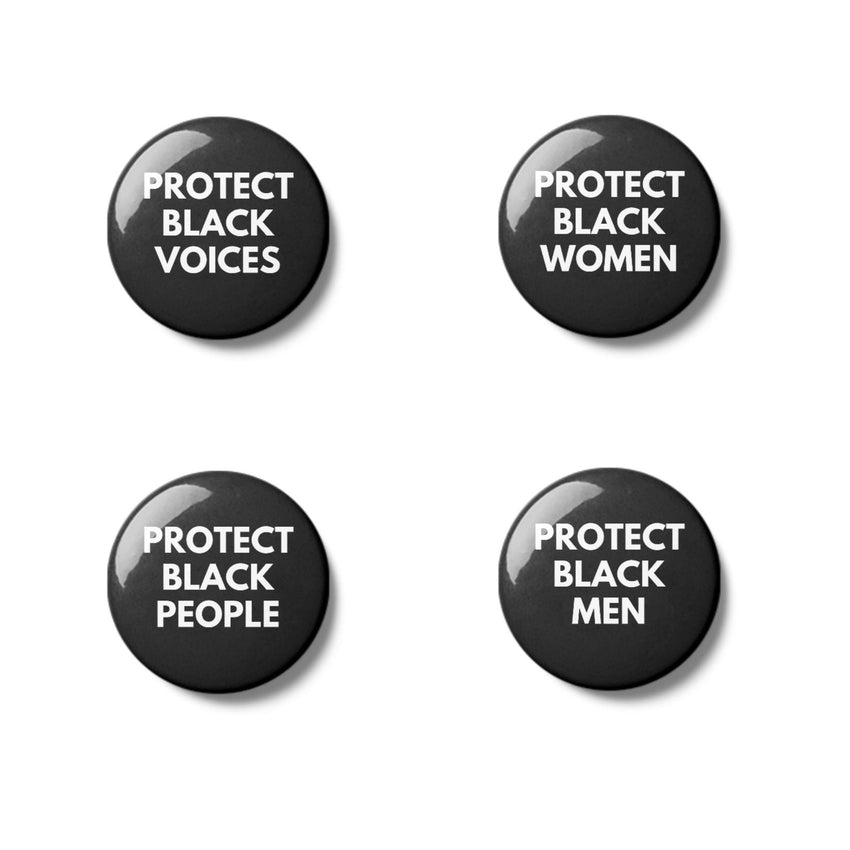 Black Lives Matter - Pinback Button Set