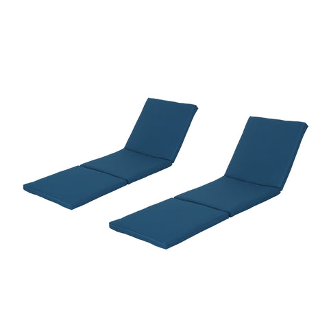 Jada Outdoor Water Resistant Chaise Lounge Cushion (Set Of 2)
