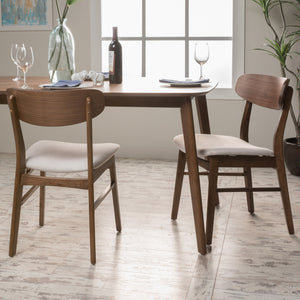 Lucca Fabric/ Finish Dining Chair (Set Of 2)