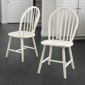 Calla High Back Spindle Dining Chair