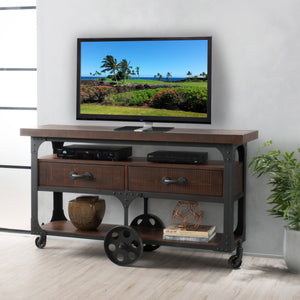 Lisbon Wood Tv Console With Drawers