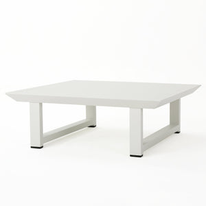 Bristol Outdoor Finish Aluminum Coffee Table