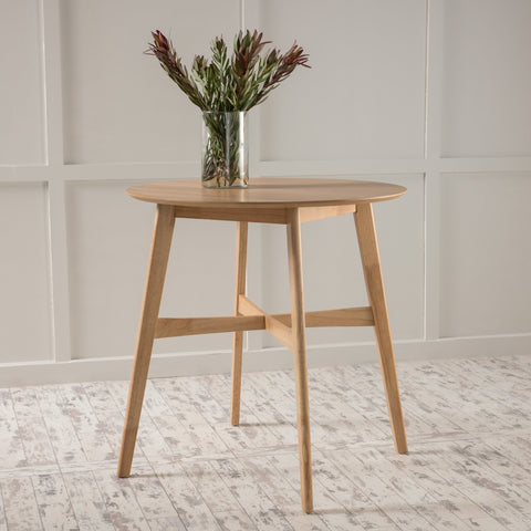 Gaspard Natural Finish Wood Counter Height Table