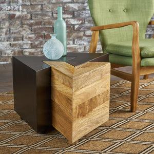 Anatoli Finished Mango Wood End Tables Set (Set Of 3)
