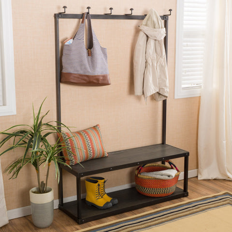 Capriole Mdf Coat Rack Bench