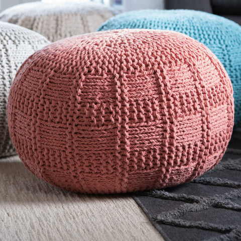 Yorkridge Fabric Pouf