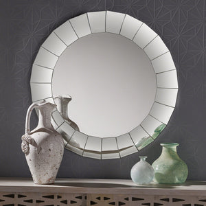 Malden Glam Circular Wall Mirror