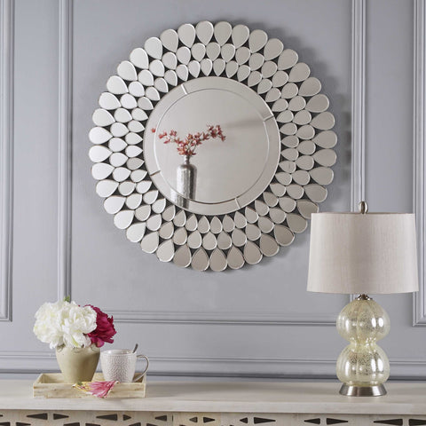 Ippolito Flower Wall Mirror