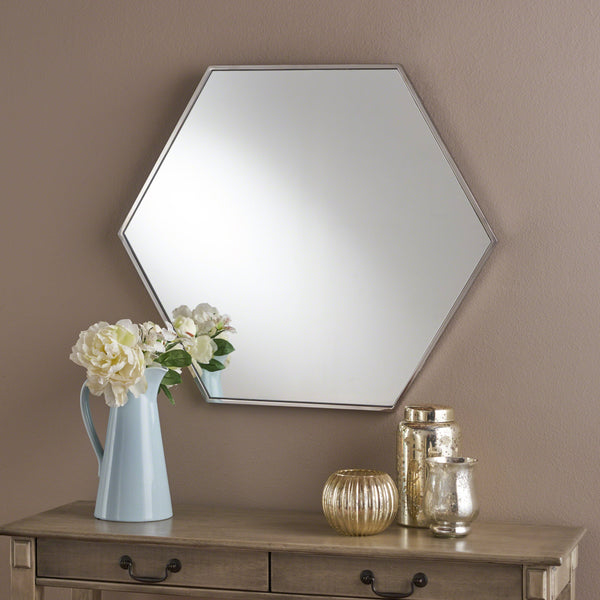 Edna Hexagonal Wall Mirror