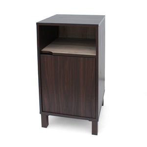 Lincoln Single Shelf Finished Faux Wood Cabinet With Sanremo Interior