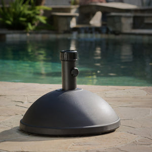 55Lb Dome Concrete Umbrella Holder