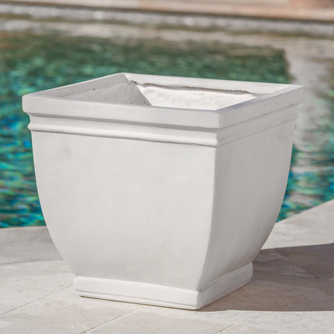 Durango Outdoor Antique Finished Cast Stone Planter