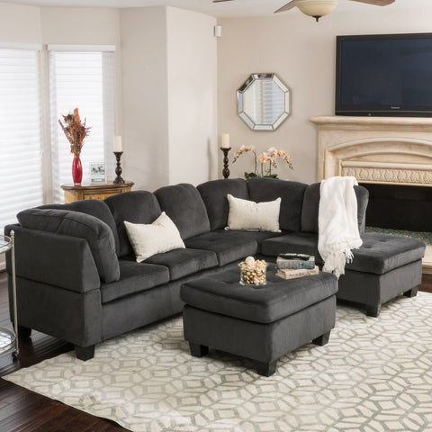 Candy Fabric Sectional Set
