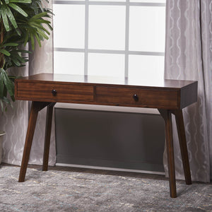 Jules Finished Acacia Wood Console Table