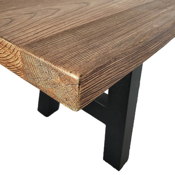 Oxnard Indoor Natural Finish Concrete Dining Bench