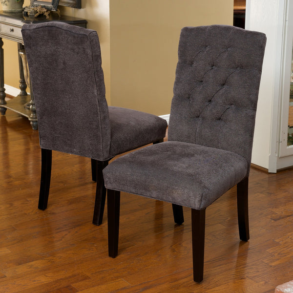 Crossback Top Dining Chairs (Set Of 2)