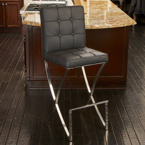 Marion Leather Barstool