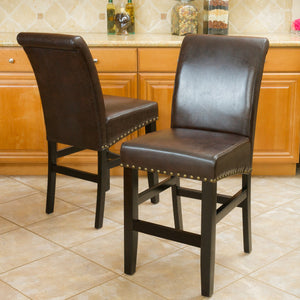Linwood Leather Counter Stool (Set Of 2)