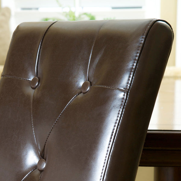 Tate Bonded Leather Dining Chair (Set Of 2)