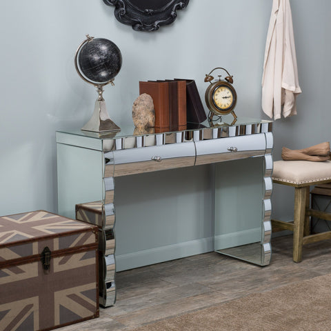 Costa Alegre Mirrored Console Table