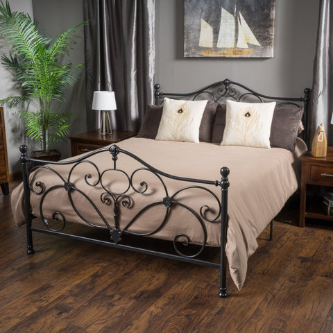 Cayton Iron Bed