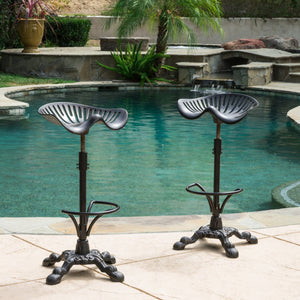 Tioman Swivel Barstool Set