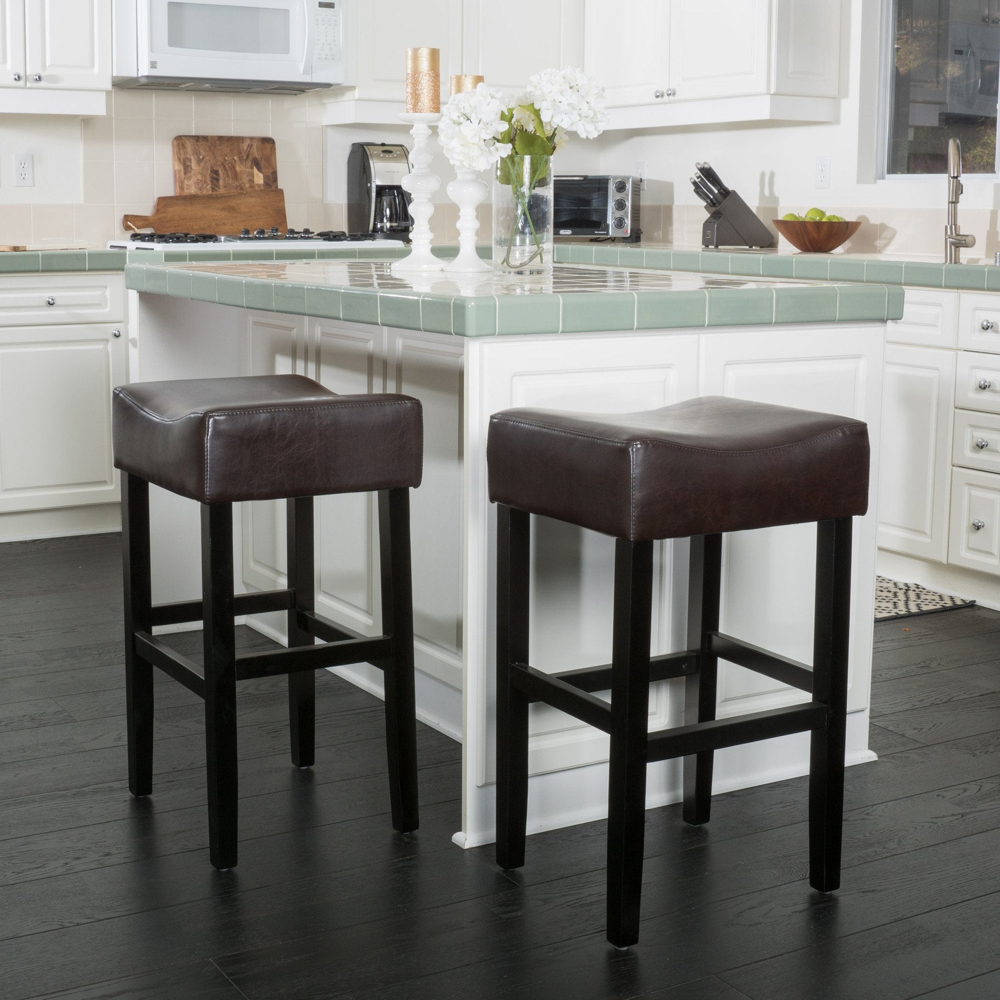 Pompidou Backless Barstool Set