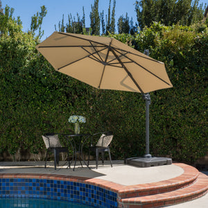 Duncan Outdoor 9.5 Ft. Canopy Sunshade